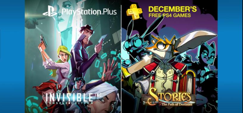 Estos son los juegos de PlayStation Plus para el mes de diciembre