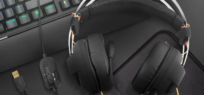 NOX renueva la imagen de su marca Krom y presenta los auriculares Kode con sonido 7.1