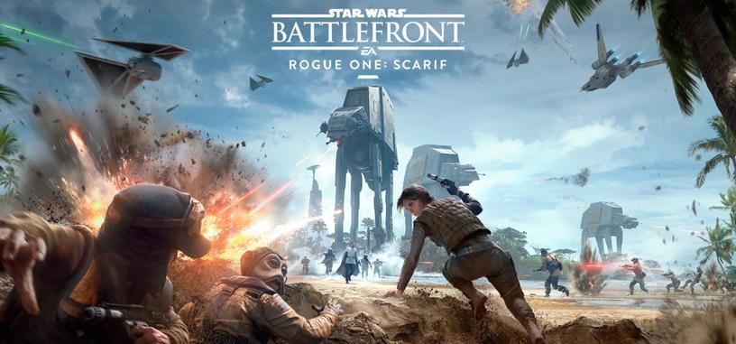Llega el tráiler del DLC basado en 'Rogue One' para 'Star Wars Battlefront'