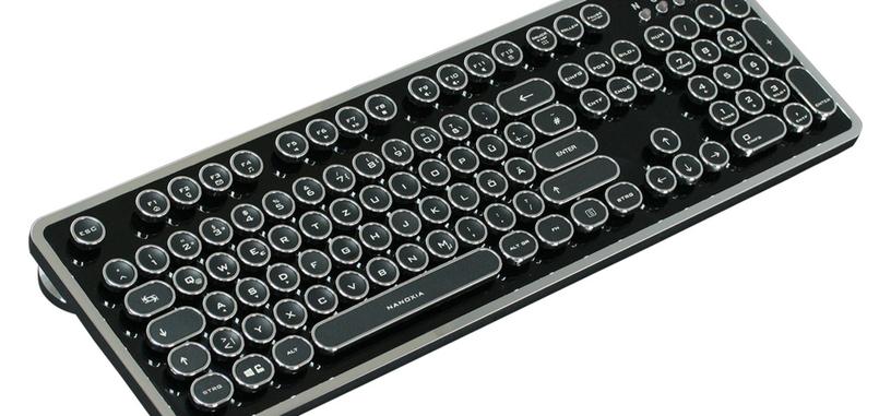 Nanoxia Ncore Retro, teclado mecánico que imita una máquina de escribir