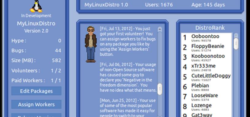 Linux Tycoon, juega a crear tu propia distro de Linux