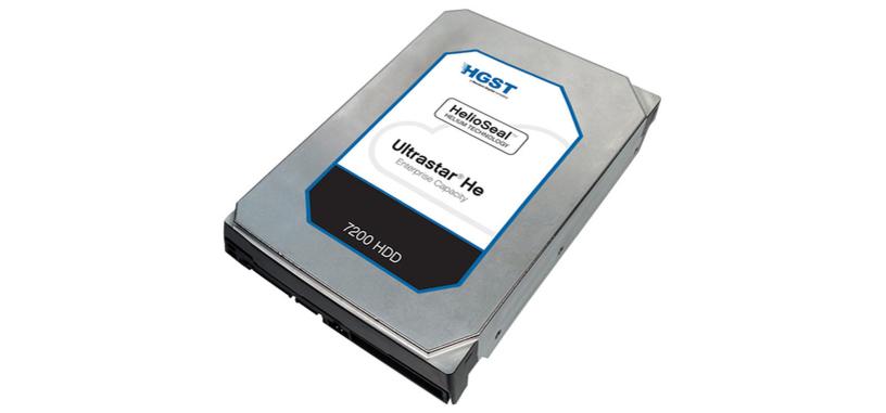 HGST pone a la venta su disco duro de 12 TB relleno de helio