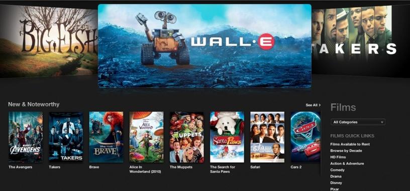 Apple podría emitir películas en iTunes cuando aún están en los cines