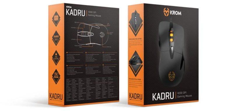 NOX presenta su ratón para juegos Krom Kadru