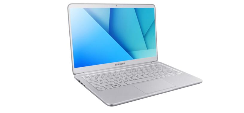 Samsung actualiza su Notebook 9 con procesadores Kaby Lake y pantalla HDR