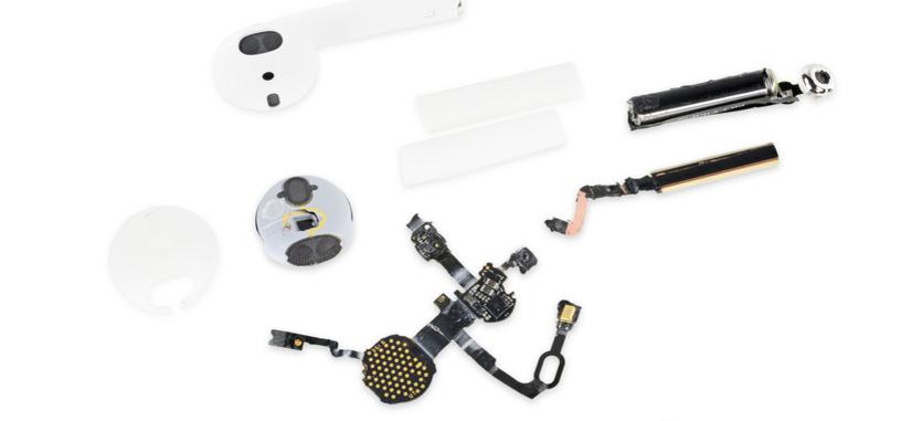 iFixit desmonta los AirPods, y los encuentra imposibles de reparar por uno mismo