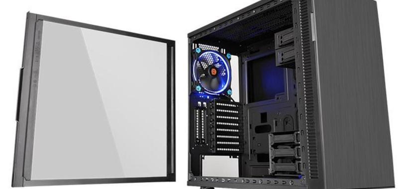 Thermaltake le añade un panel de cristal a su caja silenciosa Suppressor F31