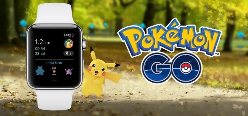 Ya puedes cazar pokemon en tu Apple Watch