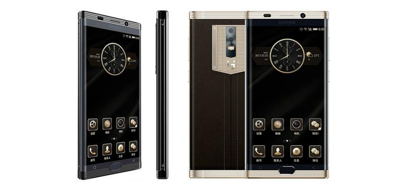 Gionee M2017, teléfono de lujo con batería de 7000 mAh y cámara con zum óptico