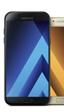 Serie Galaxy A 2017 de Samsung: diseño actualizado, USB tipo C y a prueba de agua