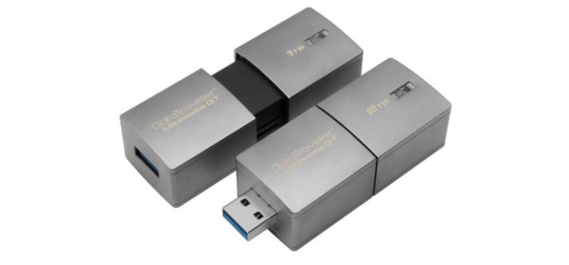 Kingston presenta una memoria USB con una capacidad que alcanza los 2 TB