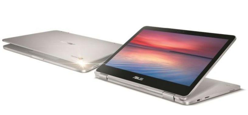 Asus lanza un nuevo convertible, el Chromebook Flip C302
