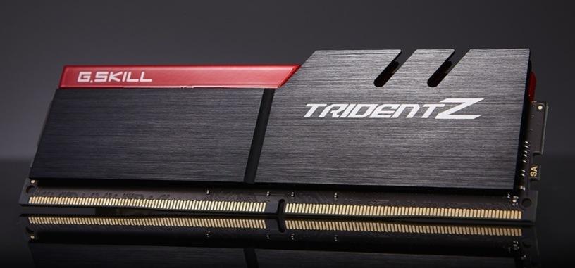 G.Skill actualiza la memoria Trident Z con velocidades de hasta 4266 MHz para los Kaby Lake