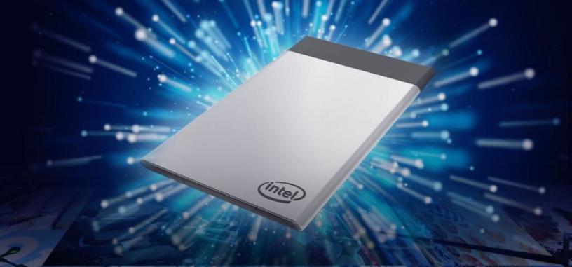El nuevo PC de Intel tiene casi el tamaño de una tarjeta de crédito