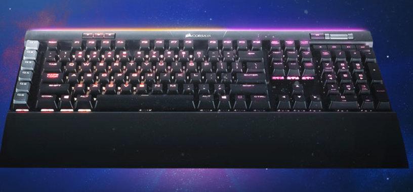 Corsair K95 RGB Platinum, teclado mecánico que añade más iluminación