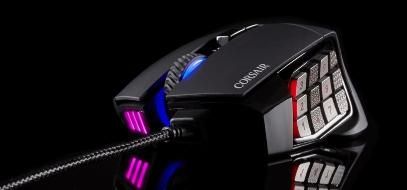 Corsair Scimitar Pro RGB, ratón mejorado para los MMO y MOBA