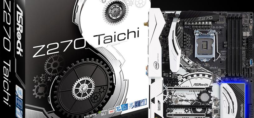 ASRock anuncia sus placas base con chipsets Z270, H270 y B250