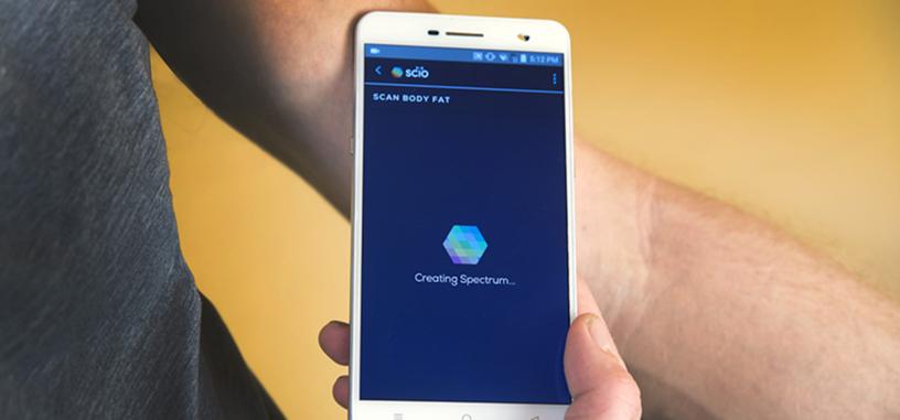 Ya hay un teléfono con sensor molecular para identificar la composición de materiales