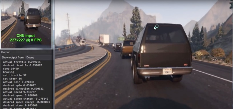 'Grand Theft Auto V' ahora sirve para enseñar a conducir a los coches autónomos