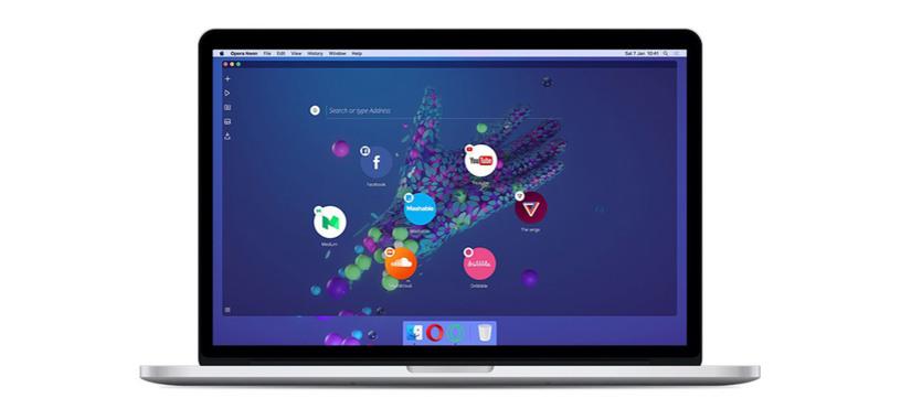 Opera presenta Neon, un nuevo navegador experimental para PC
