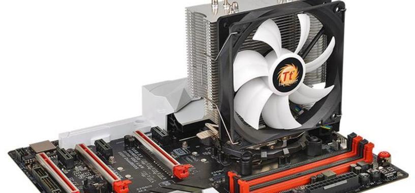Thermaltake  Contac Silent 12, refrigeración silenciosa y económica, compatible con AM4