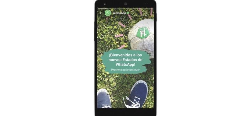 WhatsApp modifica los estados para que se puedan compartir imágenes y vídeos que desaparecen