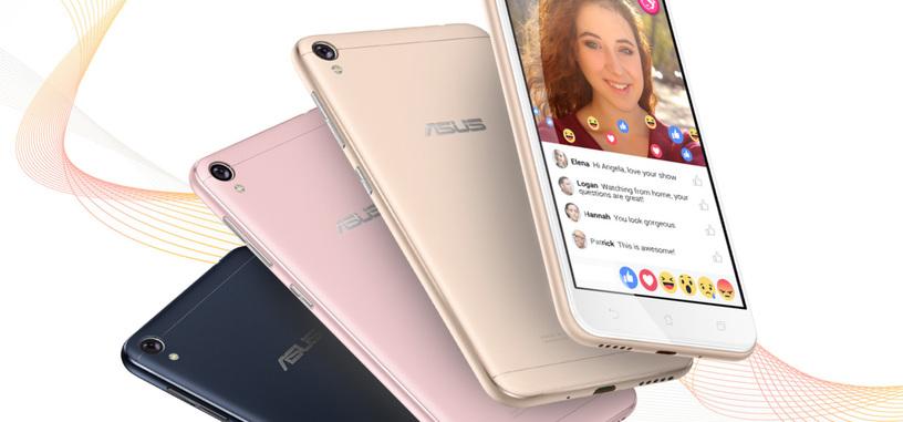 Asus ZenFone Live, teléfono orientado a selfis con mejora de imagen en vivo