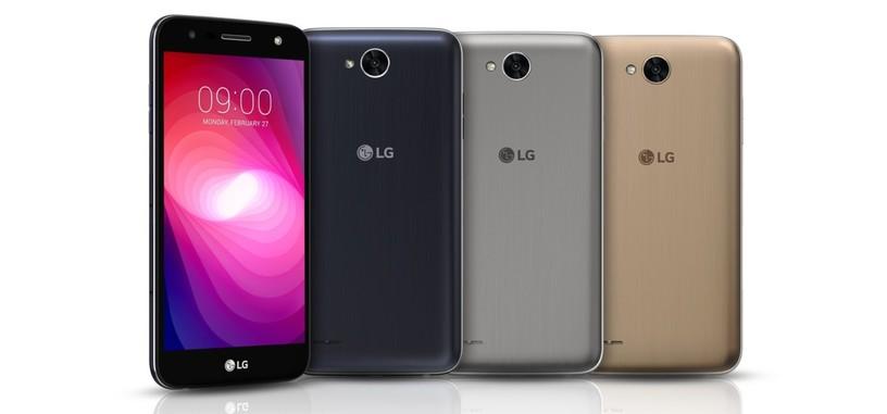 LG X Power2, 'phablet' con batería de 4500 mAh y carga rápida