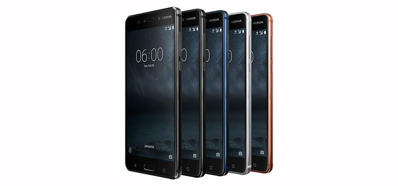 Nokia regresa a los teléfonos inteligentes con tres modelos con Android