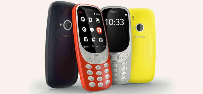 El mítico Nokia 3310 regresa remozado al mercado por 49 euros