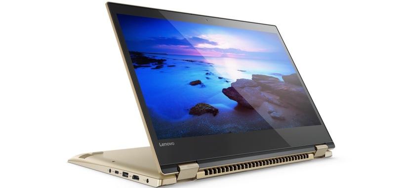 Lenovo presenta los convertibles Yoga 520 y 720, desde 599 euros