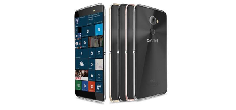 Alcatel presenta el Idol 4 Pro, una versión mejorada del Idol 4s con Windows 10 Mobile