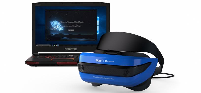 Microsoft muestra el kit de Acer de realidad mixta, llegará a la Xbox en 2018