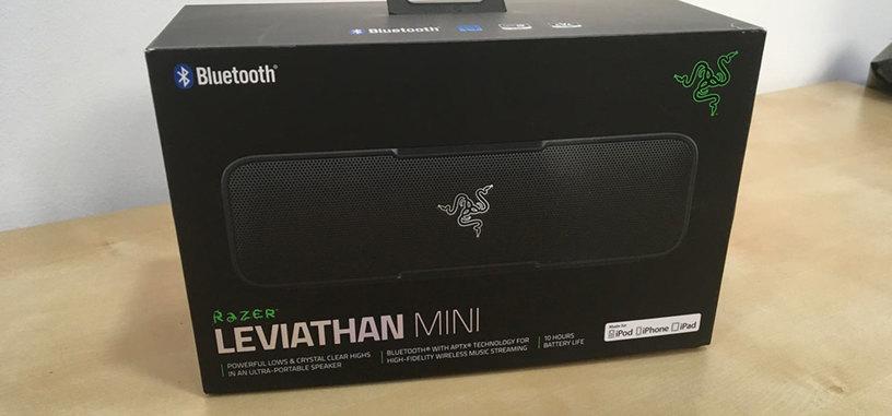 Análisis: Leviathan Mini de Razer, altavoz Bluetooth