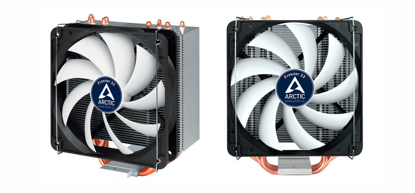 Freezer 33, nueva serie de disipadores semipasivos de Arctic, compatibles con AM4