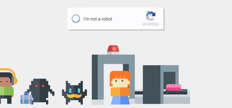 Google desarrolla un reCAPTCHA 'invisible' en el que no habrá que hacer nada