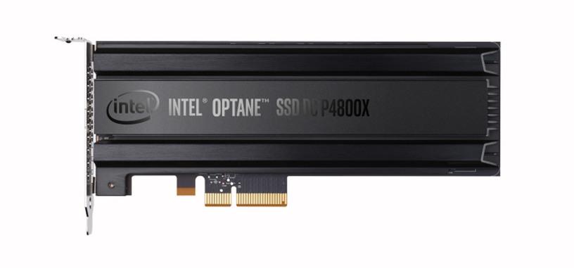 Intel presenta el primer SSD de la serie Optane con memoria 3D Xpoint, el DC P4800X