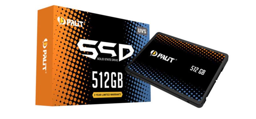 Palit se mete en la producción de SSD con las series UV-S y GF-S