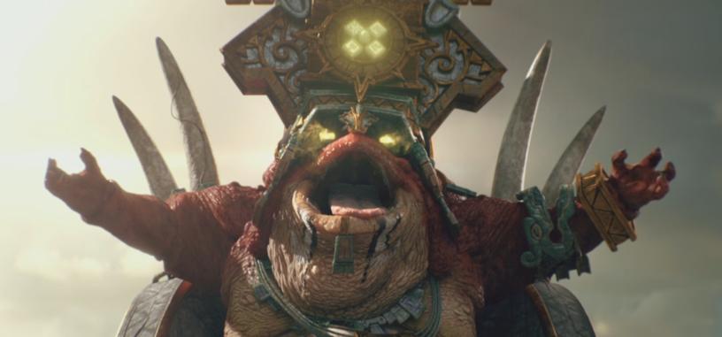 Este tráiler de Hombres Lagarto en 'TW: Warhammer 2' está grabado con el motor del juego