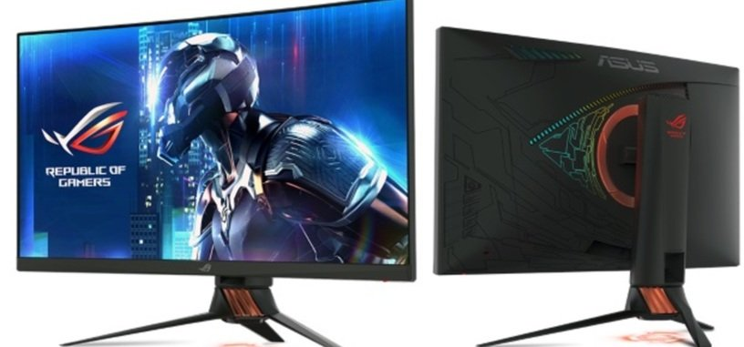 Asus presenta los monitores XG27VQ y PG27VQ con HDR para juegos
