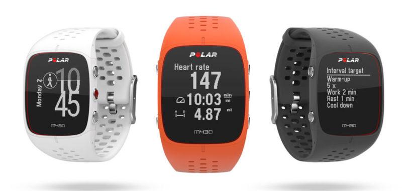 Polar presenta el reloj M430 con GPS y sensor de ritmo cardíaco para corredores