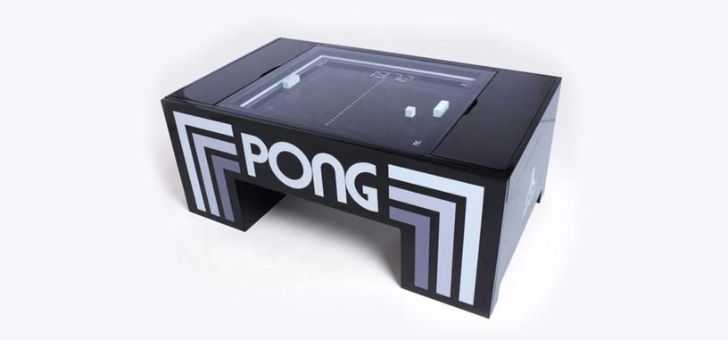 Ahora puedes hacerte con una mesa recreativa de 'Pong' para tu salón