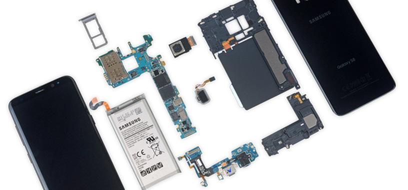 iFixit desmonta el Galaxy S8, le da un 4 sobre 10 de reparabilidad