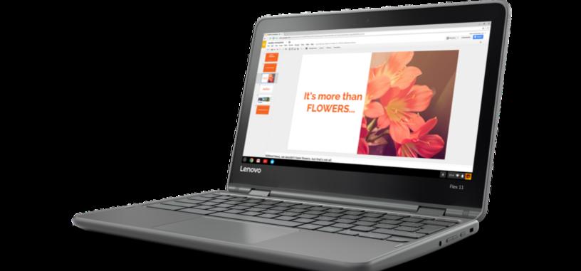 Lenovo presenta su nuevo Chromebook convertible, el Flex 11
