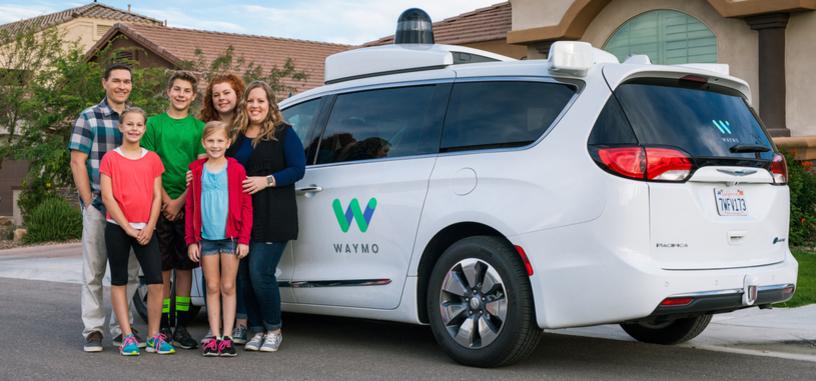 Waymo solicita permiso para realizar pruebas de sus vehículos autónomos sin conductor en California