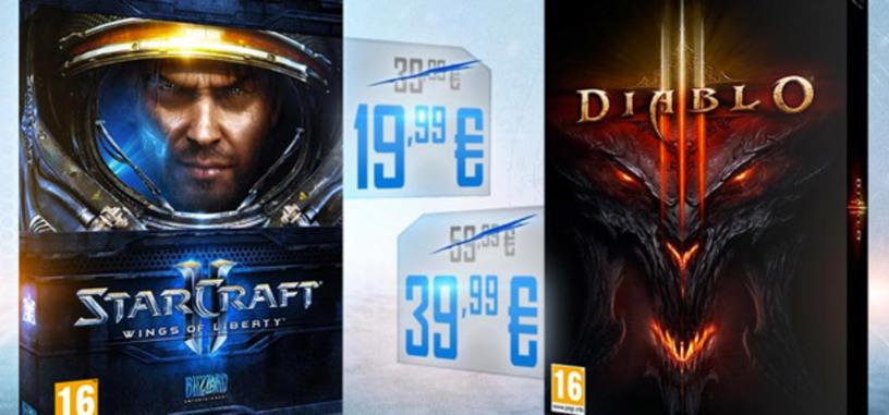 Blizzard pone de oferta Starcraft 2 y Diablo 3