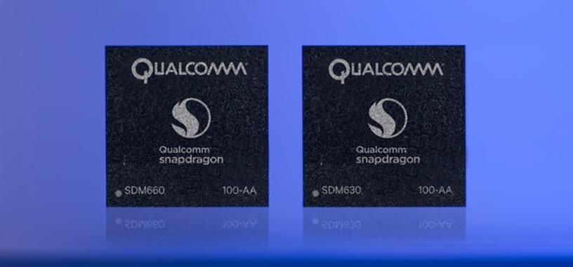 Qualcomm presenta los Snapdragon 630 y 660, listos para impulsar la gama media
