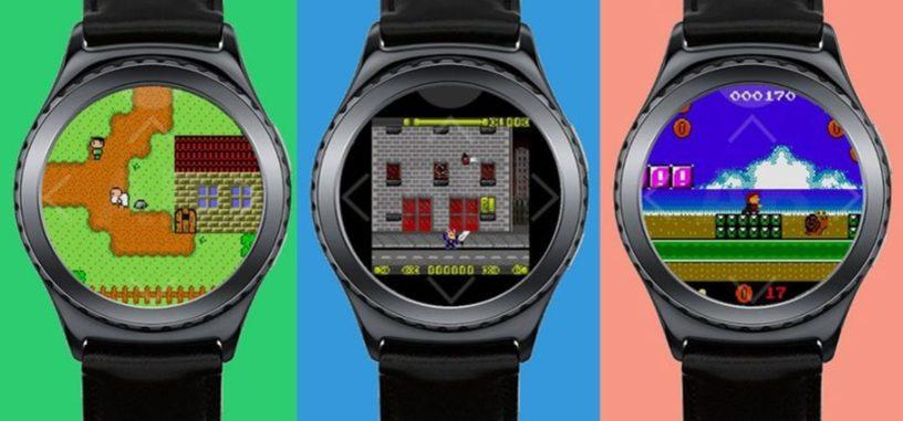 Los relojes Gear S2 y S3 ahora pueden usar un emulador de GameBoy
