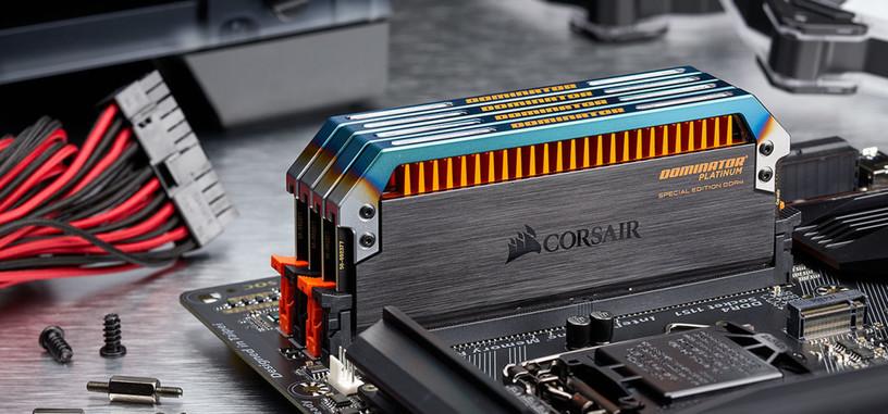Corsair presenta los módulos de DDR4 de edición especial Dominator Platinum Torque