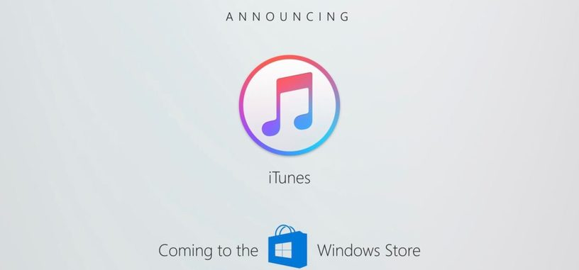 Apple llevará la aplicación de iTunes a la Windows Store